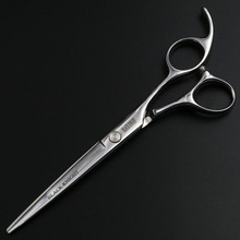 Black Knight 6.5 Inch Cutting Scissors Professional pet Shears hair Hairdressing Barber Scissors Human & Dogs & Cats