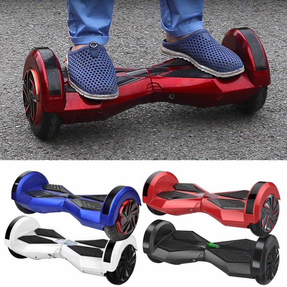 (Stock in CN DE US)8 inch 2 Wheels Gyroscope Hoverboard Self Balancing Electric Scooter Smart Hover Board with Bluetooth Speaker hot sale 4 5 inch electric self balancing scooter hoverboard smart wheels smart scooters balancing board for kid n5 1