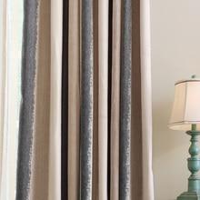 soft jacquard blackout tulle and curtains bedroom luxury cotton fabric drapes striped velvet window panels elegant
