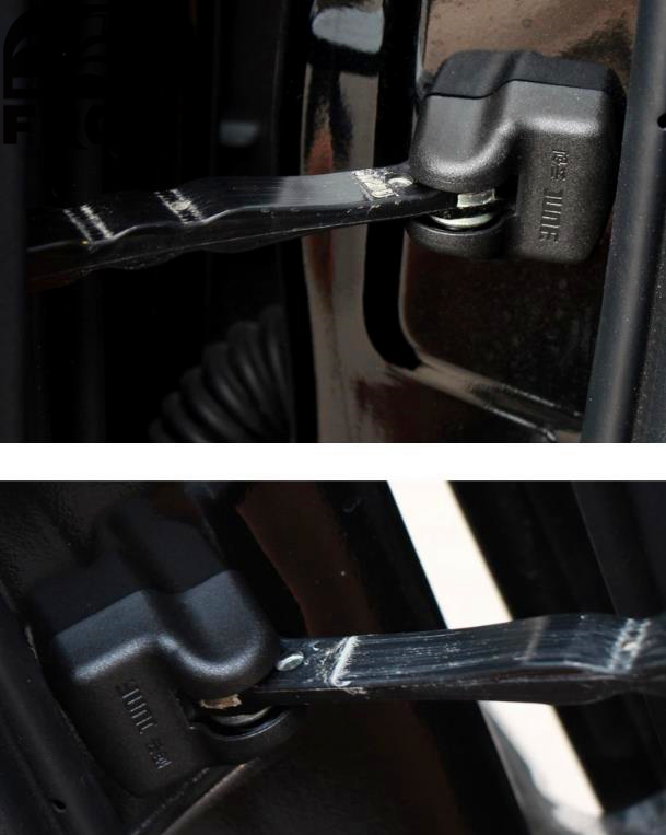 2018 New 4pcs/lot Door Stop Rust Waterproof Protective Cover For Nissan Tiida Livda March Sylphy Teana X-trial Muran Qashqai custom full covered special car floor mats for nissan patrol pathfinder nv200 sylphy qashqai tiida xtrail waterproof durable rug