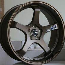 Бронзовая копия ADVAN GT 19 дюймов 19x8,5 5x112 5x114,3 5x120 Автомобильные Колесные диски из алюминиевого сплава подходят для Honda Audi Volkswagen BMW
