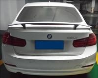 JIOYNG ABS PRIMER CAR REAR WING TRUNK LIP SPOILER FOR BMW 3 series E46 E90 E91 F30 F32 F33 (With LED LAMP)