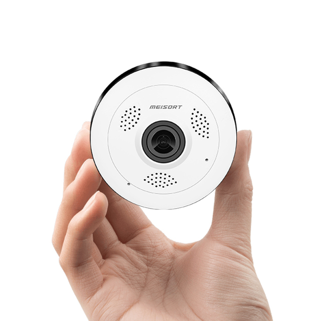 Fisheye VR Panoramic Camera HD 960PH Wireless Wifi IP Camera Home Security Surveillance System Camera Wi-fi 360 degree Webcam