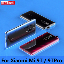 case for xiaomi mi 9t clear Xiaomi 9T Pro Cover Silicone Ultra Thin Funda Mofi TPU Transparent Back 6.39