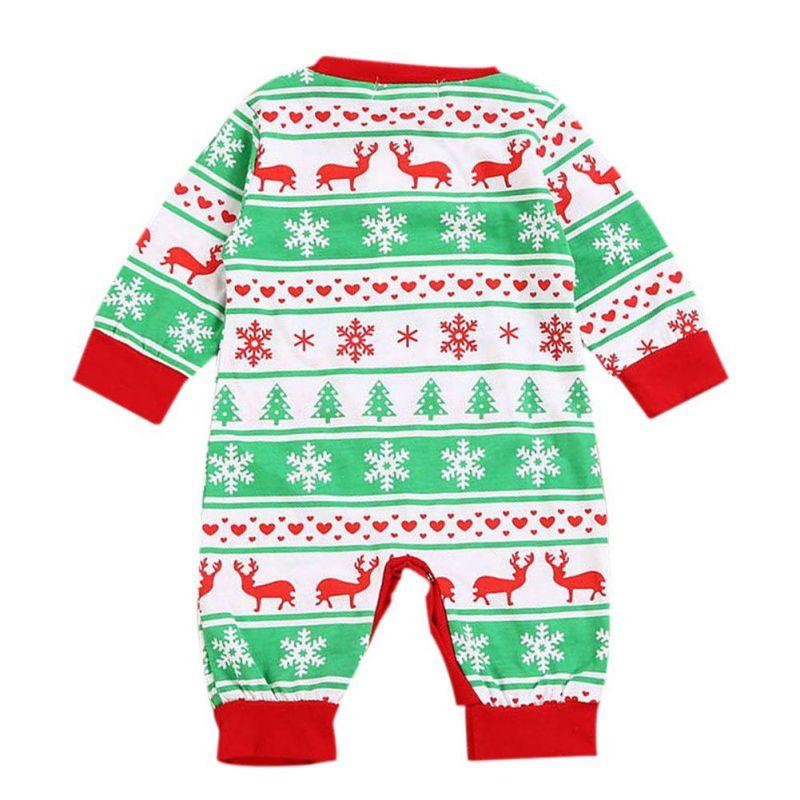 2017 Autumn Casual Jumpsuit Fashion Girl Boy Moose Deer Newborn Long Sleeve Cotton Christmas Romper Clothing