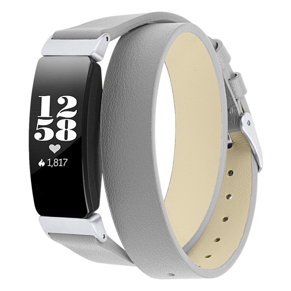 Smart watch Couro Band Para Fitbit Inspirar