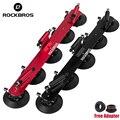ROCKBROS 3 велосипедное крепление для багажника  велосипедная Автомобильная переноска на крышу  вилка для крепления на стойку MTB  крепление на б...