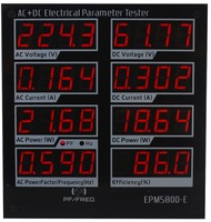 EPM5800 E AC/DC power meter/ watt meter/Electrical paremeters tester/ test Power Supply/Driver/efficiency/ac /DC