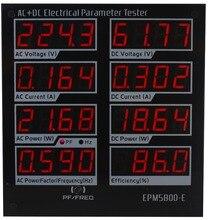 elektrycznych/test EPM5800-E miernik zasilania/sterownik/wydajność/ac/DC
