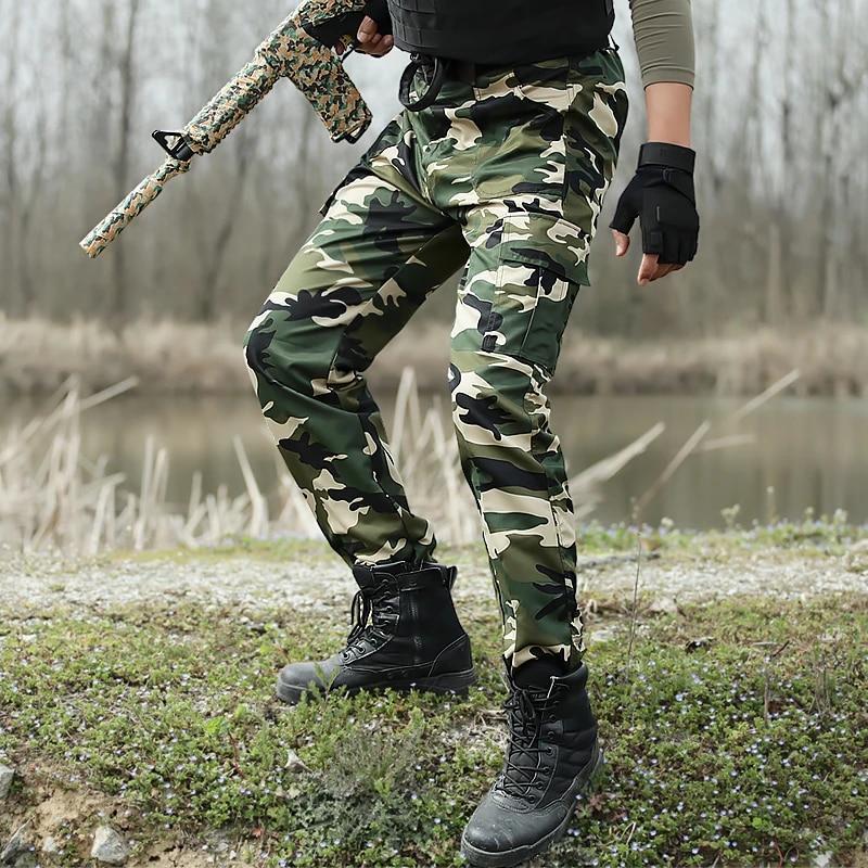 Military Camouflage Tactical Pants Army Combat Cargo Pants Men Pantalon Militare Men Pants Cs Militar Joggers Pantalones Hombre Pantalones Hombre Combat Cargo Pantsmen Pantalon Aliexpress