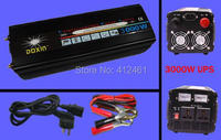CE&RoHS Approved 3000w UPS Inverter, Battery Power and City Power Anuto switch