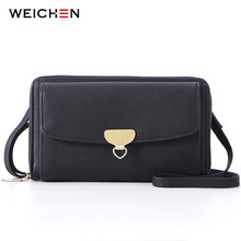 WEICHEN Multi-function Women Small Shoulder Bags High Quality Female Mini Crossbody Bag Ladies Messenger Sac Purse Clutch Bolsa