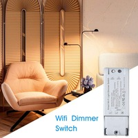 Dimmer WiFi Dimming Switch Smart Dimmer Alexa/Google Assistant Voice Control IOS Android Dimming Switch Home Remote Control 300W