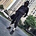 Высокое Качество Мужчины Женщины Брюки Бегунов Гарем Грузовой Армия Хип-Хоп Kanye West Yeezy Yeezus Тур Drawstring Брюки Брюки