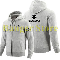 Suzuki car logo zipper Sweatshirts and hoodie for women and men