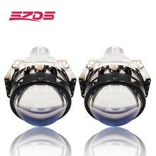 3.0 inch H4 Hella 5 Bi xénon projecteur lentille modification voiture phare adapté pour D2S D2H xenon kit ampoule voiture assemblage phare modifier