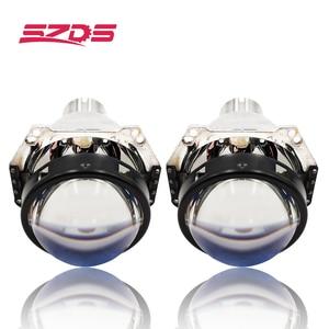 Image 1 - 3.0 inch H4 Hella 5 Bi xenon Projector lens Retrofit Car Headlight fit for D2S D2H xenon kit bulb car assembly headlamp modify