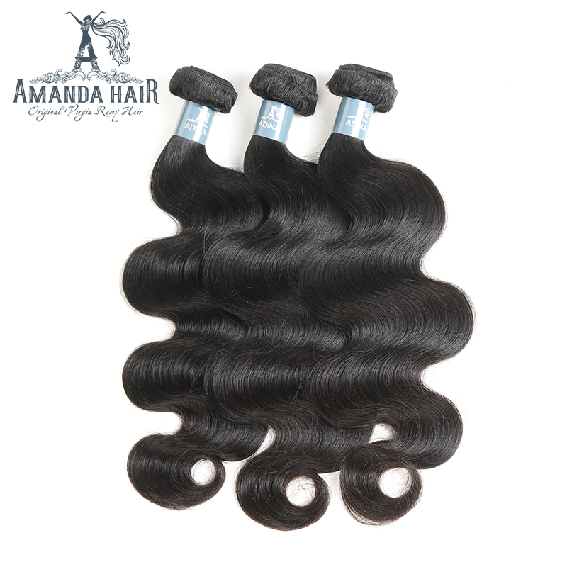 Brazilian Body Wave Bundles Deals 100% Unprocessed Virgin Human Hair Body Wave Brazilian Hair Weave Bundles 1pcs For Salon Hair