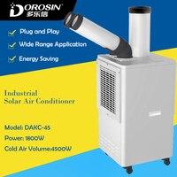DAKC 45 промышленных холодного воздуха машина холодного кондиционер для мастерской оборудования охлаждения 8L холодной увлажнитель воздуха