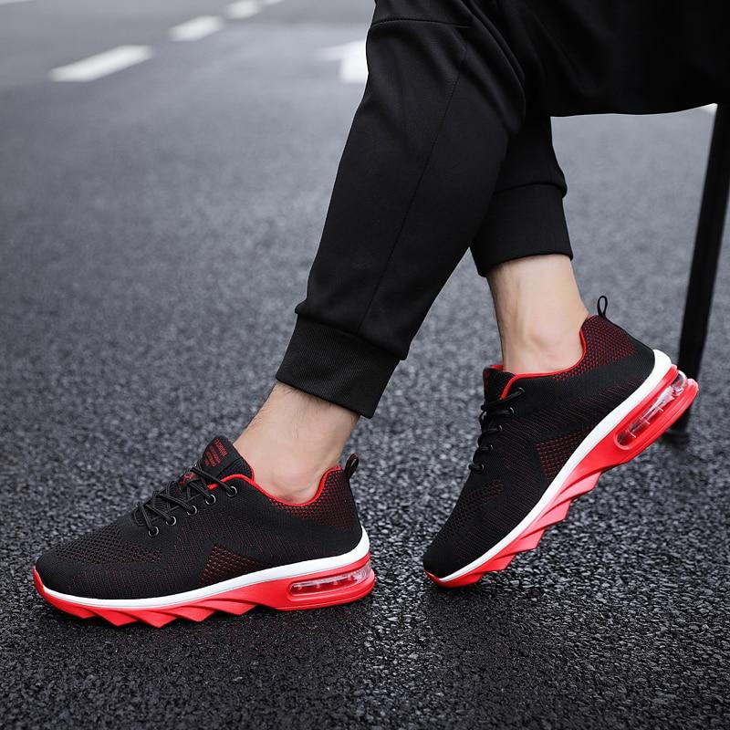 And Gold Homens Moda red Black Alta 5 Qualidade 2018 Plana Da Outono De Sapatos black Casual Ash Calçado Malha Respirável Marca Primavera Sqrw1ST