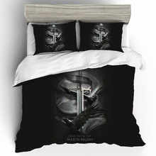 Customize Game Of Thrones King Size Bedding Sets Skull Duvet Cover Bed Sheets And Pillowcases Linen Set Home Textile