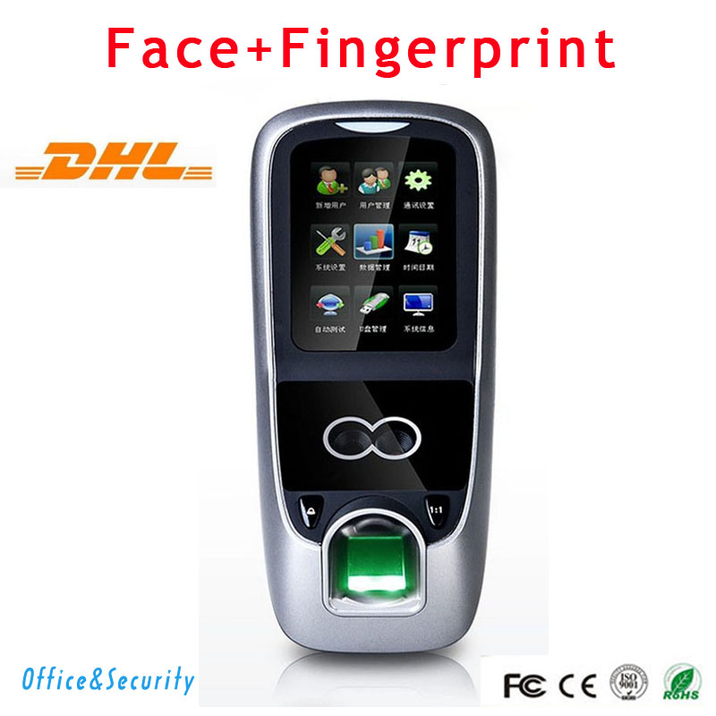 dhl free shipping face fingerprint password time clock attendance english interface zk iface7 face recognition access control DHL Free Shipping Face+Fingerprint+ Password Time clock Attendance English Interface ZK Iface7 Face Recognition Access Control