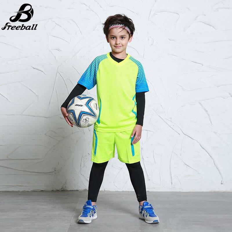 Kualitas tinggi anak laki-laki seragam sepak bola kaus sepak bola - Pakaian olahraga dan aksesori