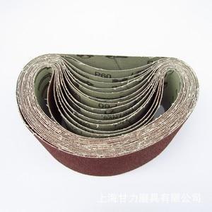 "Image 2 - 5 pcs 75*533mm Sanding Belts 533*75mm Band 3"" 21"" Screen With Grit 40 to 600 Soft Cloth For Belt Sander"