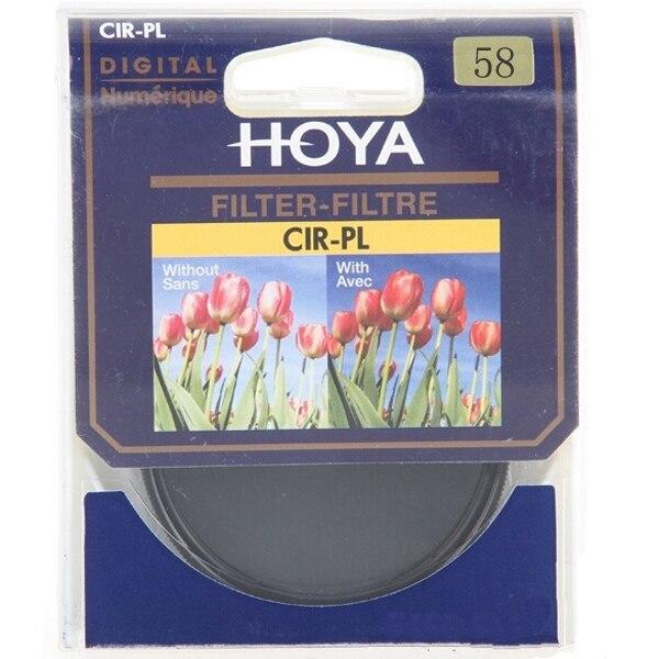 2 in 1 58mm HOYA CPL CIR-PL Slim Circular Polarizer Filter Digital Lens Protector +UV(C) Camera Filter As Kenko B+W
