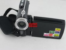 Dual solar charger 720P HD digital video camera,3 inch screen, 12MP max resolution, 8 x digital zoom and lithium battery