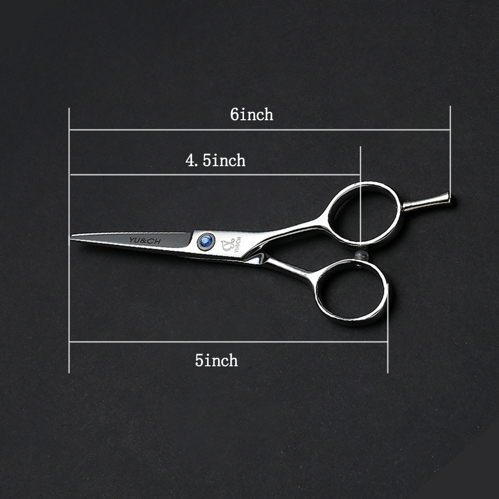 Barber Professional 4.5Inch Short Blade Fringe / Bang Mustache / Beard Trimming Hair Cutting Scissors Shears For Hairdresser