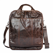 woman mens genuine Oil wax greased leather cowhide coffee black travel back packs Shoulder hand school tote school Bags satchel