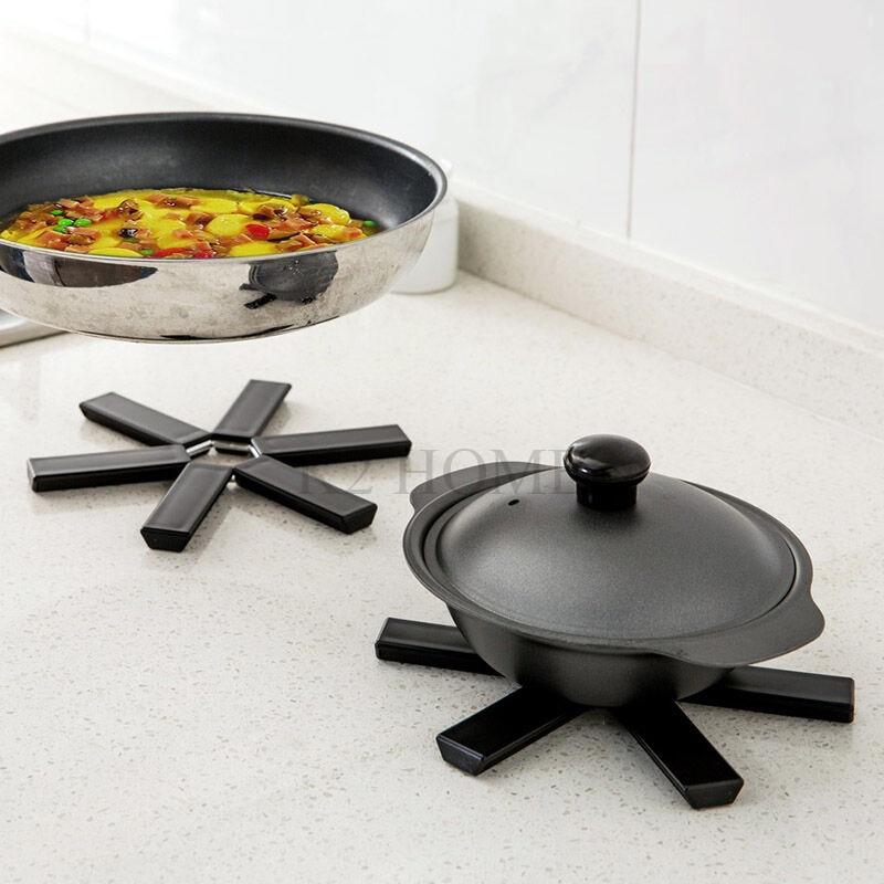 Kitchen Trivets: Kitchen Foding Hot Pad Trivet Coaster Heat Resistant Pads