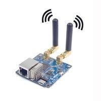 Xiao R Çift Anten Wifi Modülü Video Iletim Ağ Bağlantı Noktası Için seri Port Ile 300 M Bant Genişliği 5dBi Uzun/2dBi Kısa Çift