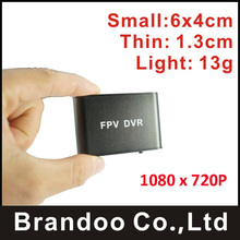 2017, маленький 1 канал 1080 P FPV-системы DVR, авто записи, 128 ГБ Micro SD, BD-300F от Brandoo