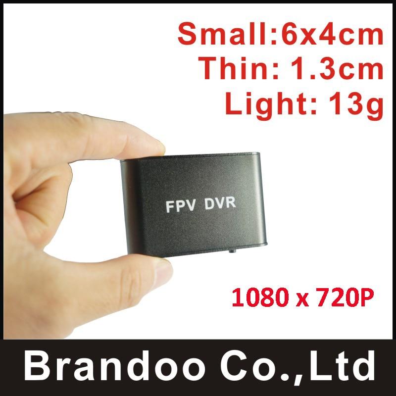 2017 Smallest 1 channel 1080P FPV font b DVR b font auto recording 32GB micro SD