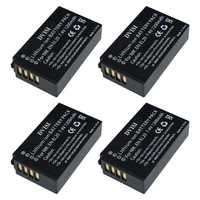 4 unids/lote 7,4 V 1.2Ah EN-EL20 es EL20 ENEL20 Cámara recargable de la batería para Nikon EN-EL20a 1 J1 J2 J3 S1 cámara Digital