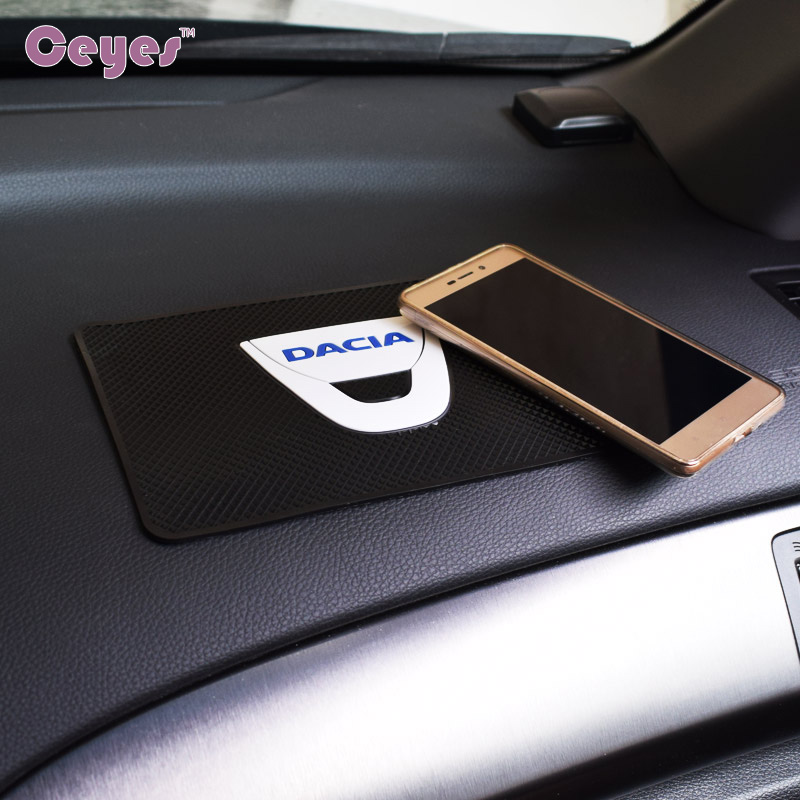 где купить Ceyes Car Styling Mat Case For Dacia Duster Logan Sandero Stepway Lodgy Mcv 2 Dokker Auto Interior Accessories Car-Styling 1pc дешево