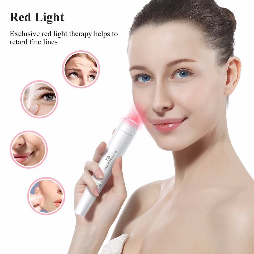 products care therapy led blue red box of lighting light back lamps derma carelamps device amber revive