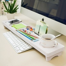 Multi-function Desk Storage Shelf Office Desktop Organizer Phone Keyboard Pen Shelves