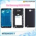 Замена для Samsung Galaxy Note i9220 N7000 полный корпус крышка аксессуары с кнопками 1 частей