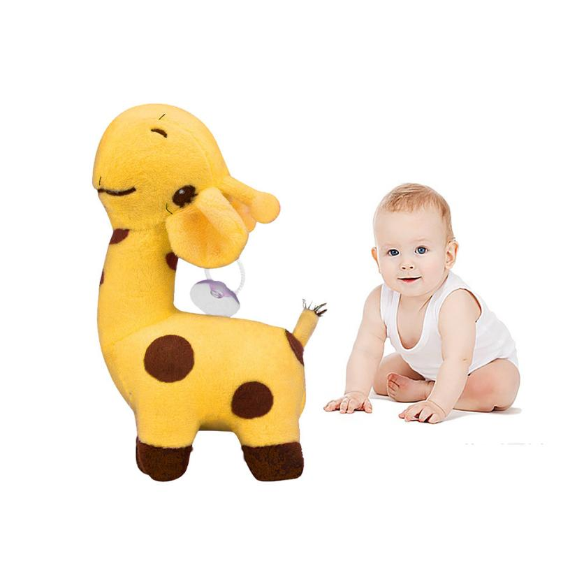 18 Children Animal Toy Soft Giraffe Dear Soft Plush Toy Animal Dolls Baby Kid Birthday Party Gift Christmas Plush toys Kids 4 colors pusheen plush cute soft animal toy giraffe plush doll birthday gift toys for children 18cm baby dolls free shipping