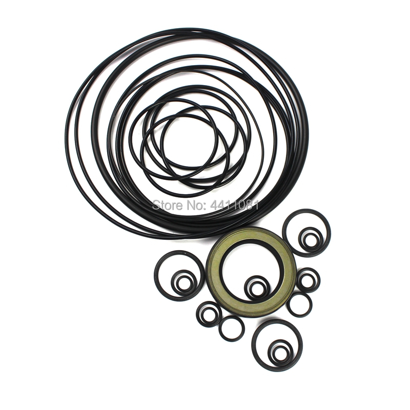 For Hitachi EX400-3 Hydraulic Pump Seal Repair Service Kit Excavator Oil Seals, 3 month warranty for hitachi ex400 5 bucket cylinder seal repair service kit 4255532 excavator oil seals 3 month warranty