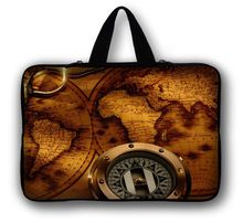 "Mapa y brújula 15 "" Laptop Carry Bag funda bolsa para 15.6 "" DELL XPS 15"