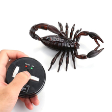 Remote Control Scorpion  Infrared Radio Kids Toy RC Realistic Simulation Joke Scary Trick Toys