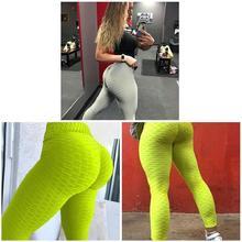 2019 Fashion Droppshiping Women Anti-Cellulite Compression Leggings Slim Fit Butt Lift Elastic Pants BFJ55