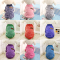 Classic Winter Warm Dog Clothes Puppy Pet Cat Jacket Coat Fashion Soft Sweater Clothing For Chihuahua Yorkshire 9 Colors XS-2XL