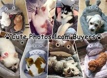 Warm Animal Sleeping Mat Sofa Totoro Litter Pet Cama Rabbit Guinea Pig Cat Puppy Dog Beds for Small Medium Large Dogs Lounger