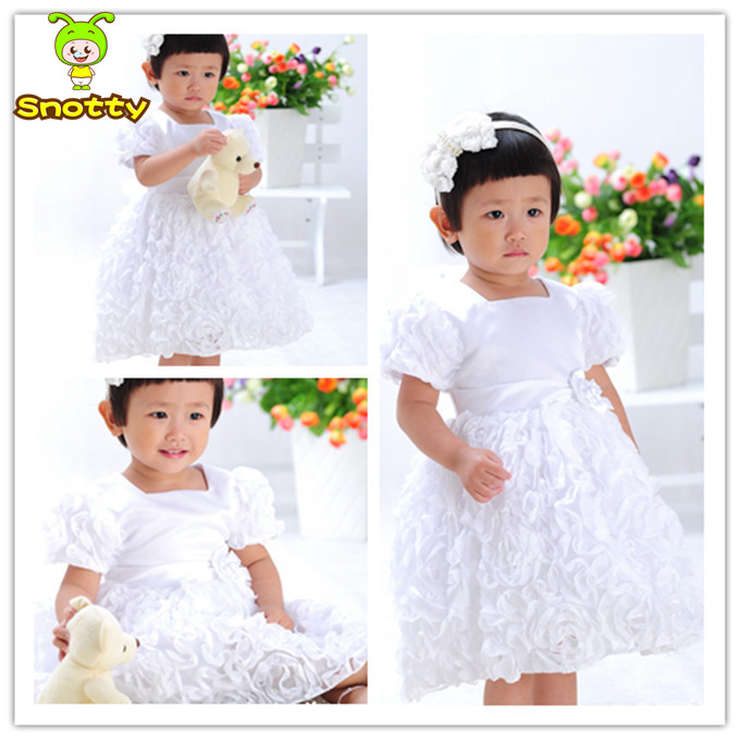 Angel 1 2 3 years old baby girl party wear dresses birthday dress 1 ...