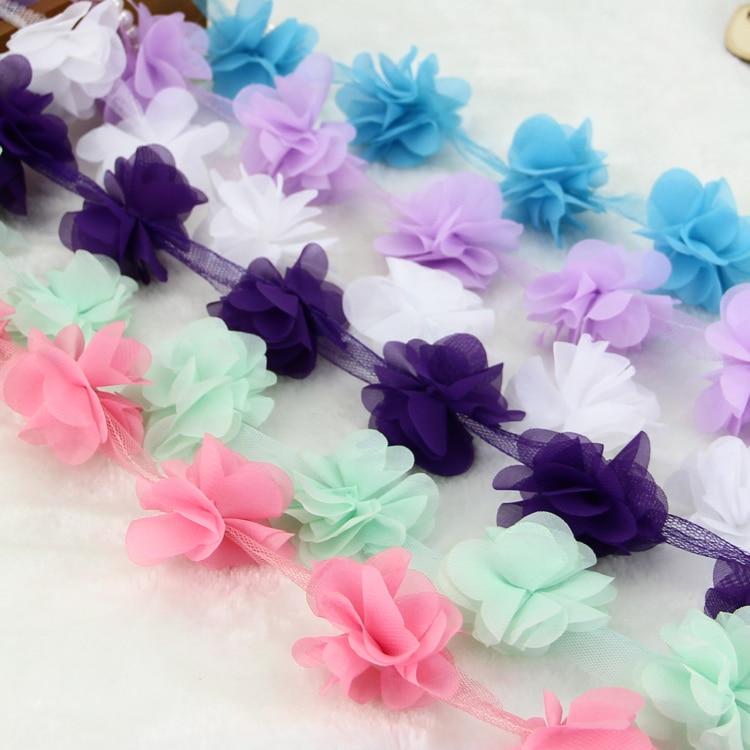 10 oborre / shumë shumëngjyrësh 3D 6 gjethe byrynxhyk Lule - Arte, zanate dhe qepje - Foto 5